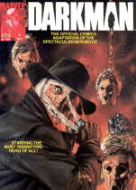 Darkman Movie Adaptation Magazine!