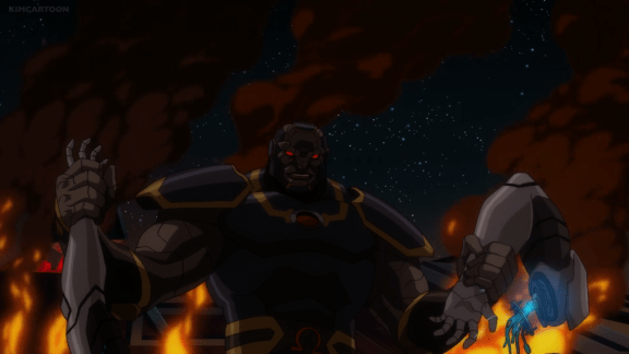 Darkseid-So Much For Going Out On A Limb For Your Teammates!