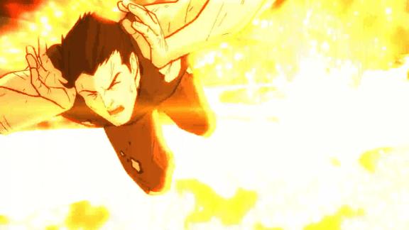 Clark Kent-Evading An Explosion!