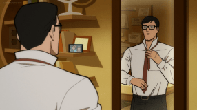 Clark Kent-Prepping For A Big Day At Work!