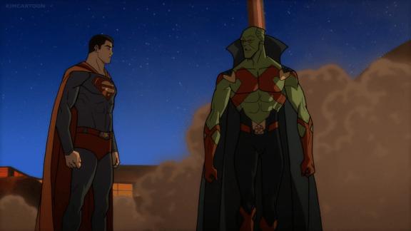 Superman-You're Alive, J'onn!