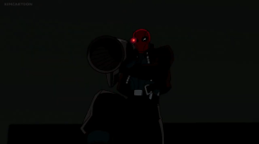 Red Hood-Here Comes The Boom, Black Mask!