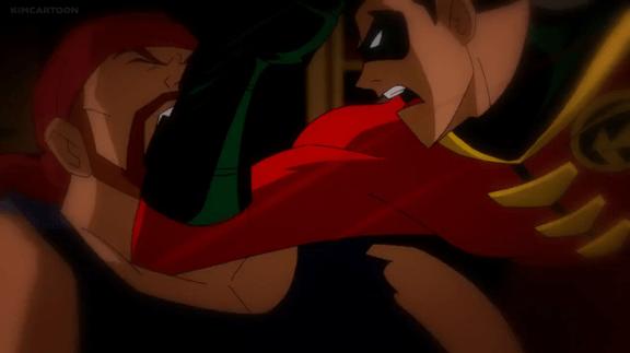 Robin-Elbow Of Fury!
