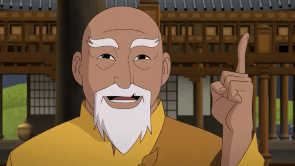 O-Sensei-A Single Finger Is Your Lone Weapon, Shiva!