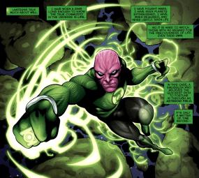 Abin Sur Prequel-I've Seen A Lot As A Green Lantern!