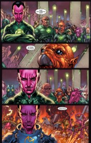 Sinestro Prequel-Deep In Thought!