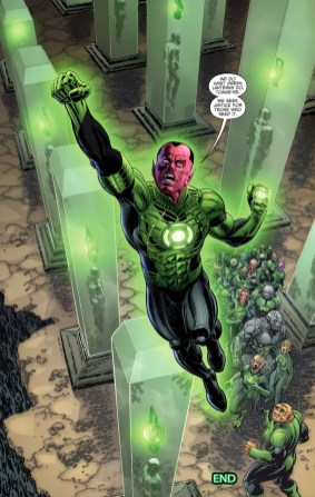 Sinestro Prequel-For Abin Sur, Keep Fighting For Justice!