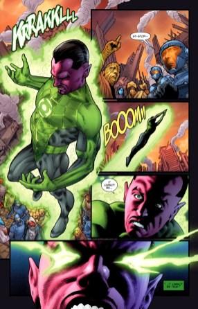Sinestro Prequel-I'm Outta Here!