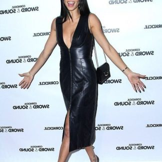 Adriana Lima Basic Black Top Womens - CDFW Celebrity Dresses Tops for Girls