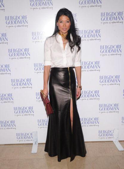 Best Leather Long Skirt
