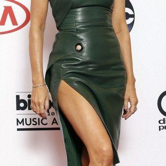 Leather Skirt of Celine Dion