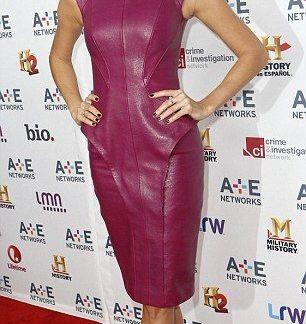 Pleated Skirt Celebrity Dresses