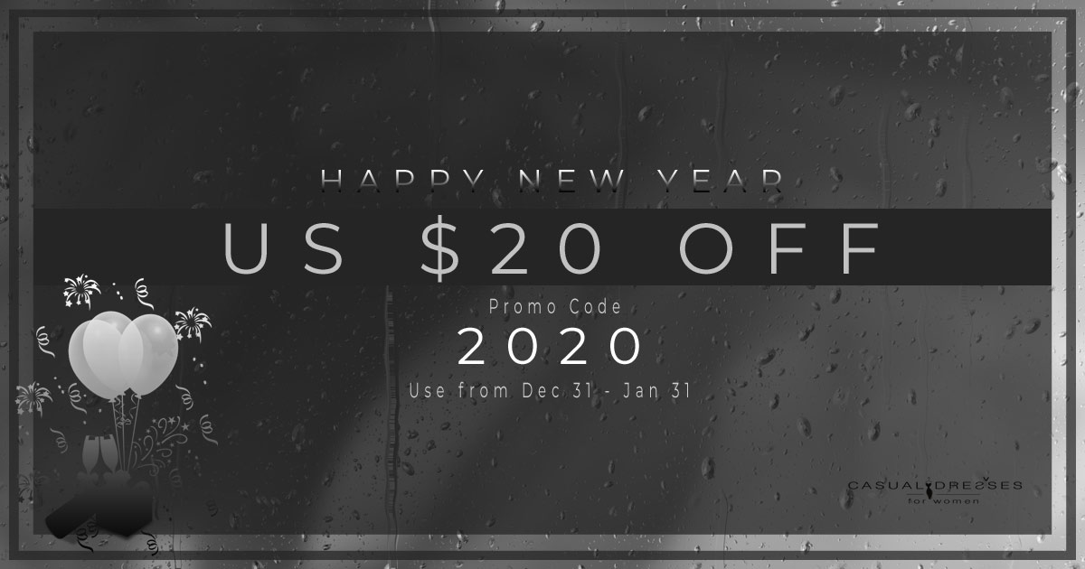Happy New Year $ 20 Off