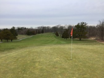 6th hole green