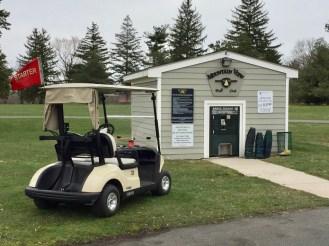 Range ball hut