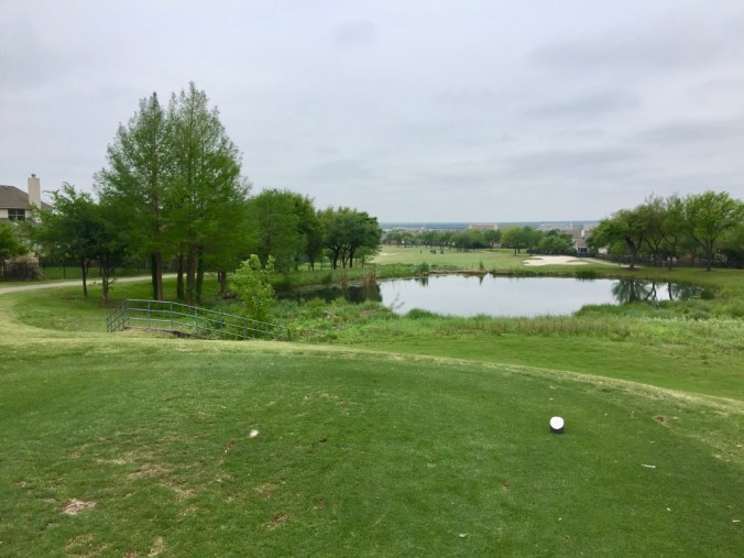 4th hole tee view