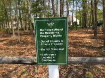 Harbor Pines Golf Club makes sure it respects its neighbors.