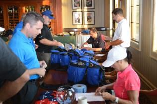 Charity golf tournament take teamwork.