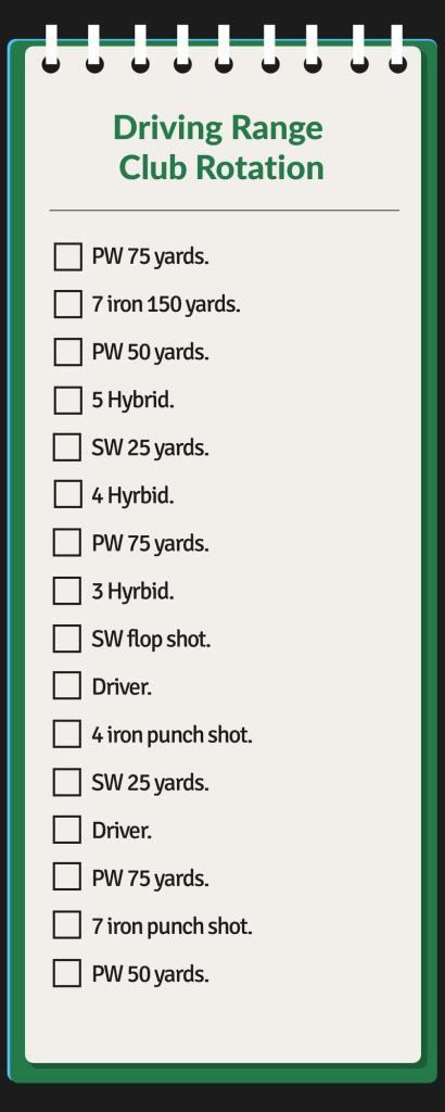 Driving Range Club Rotation
