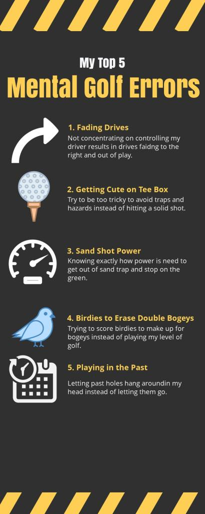 Mental Golf Errors