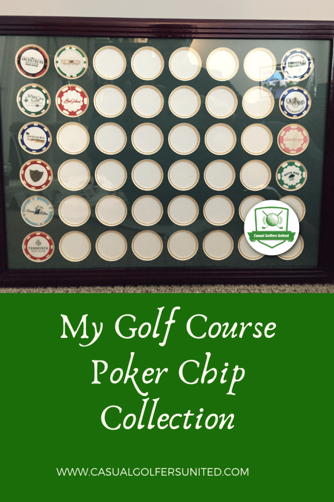 golf course poker chips