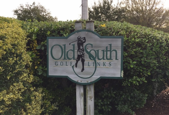 Old South Golf Links golf course
