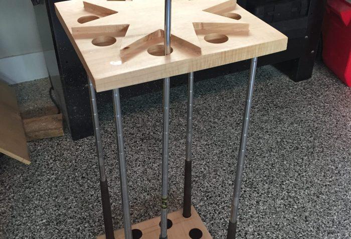 putter stand, golf club stand