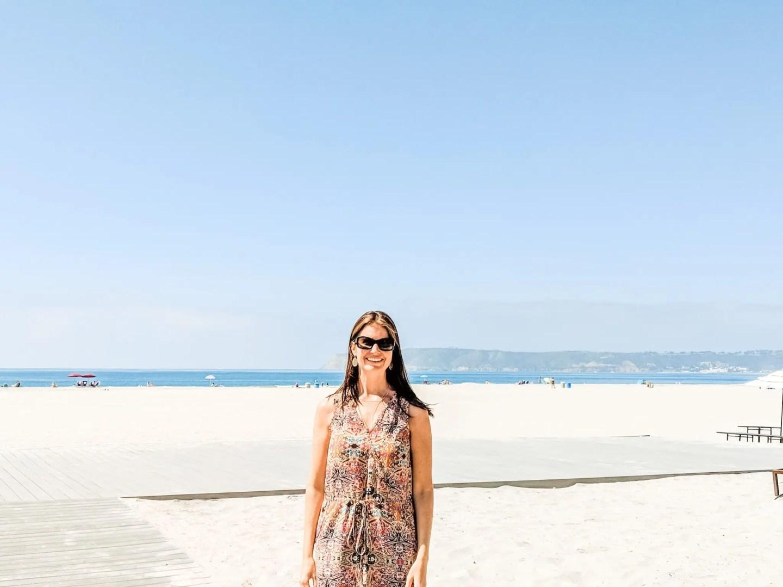 Coronado Beach - the most beautiful beach we set foot on during our California Road Trip to San Diego and Coronado.