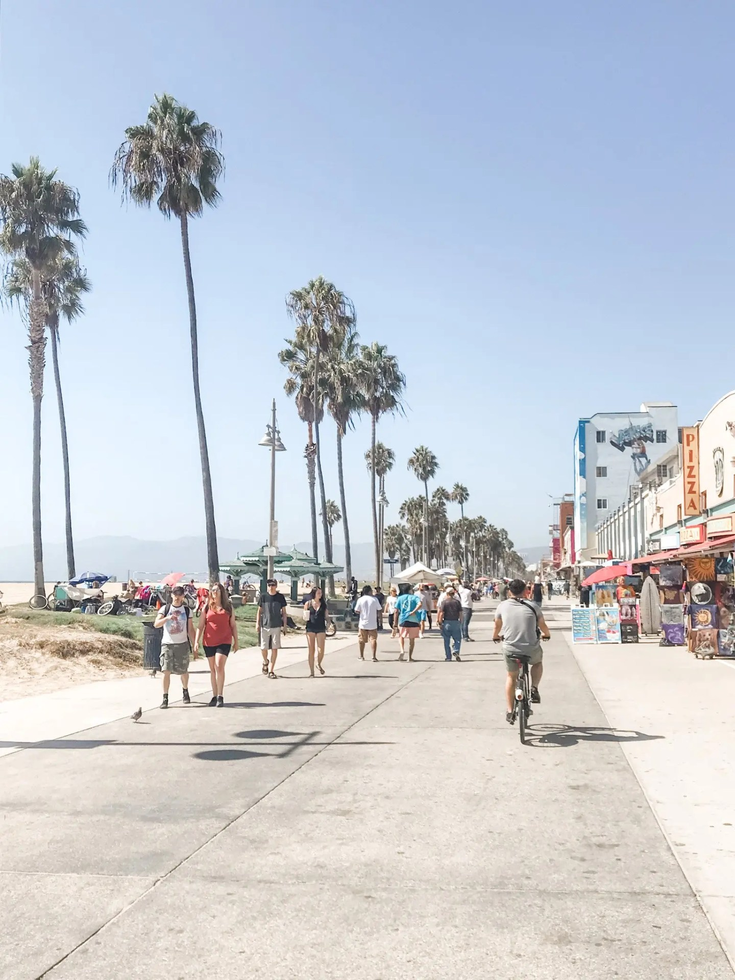 No road trip through LA is complete without a visit to the Venice Beach Boardwalk!