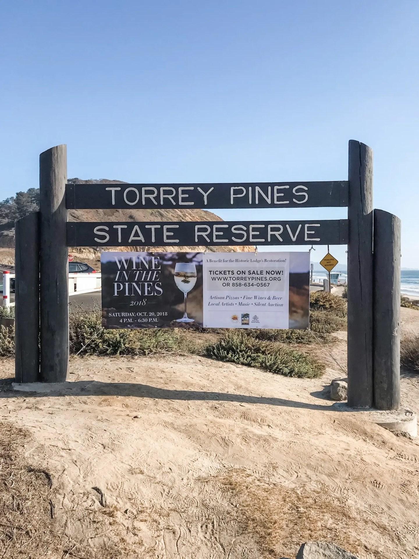 California Road Trip to San Diego. Torrey Pines State Reserve, San Diego