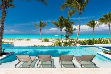 Hawksbill Villa Pool Seating