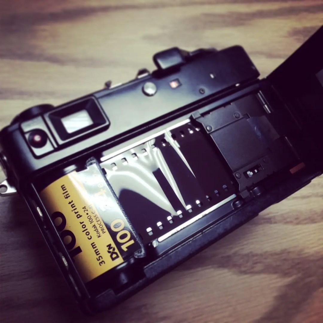 Canon Canonet Film Quick Load