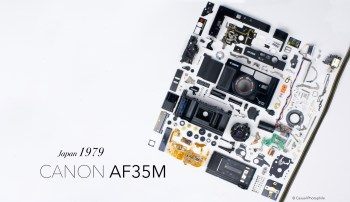 Canon AF35M Exploded View 2