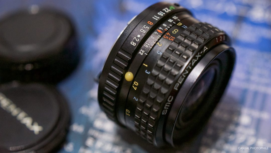Pentax A SMC 35mm 2.8 Lens Review