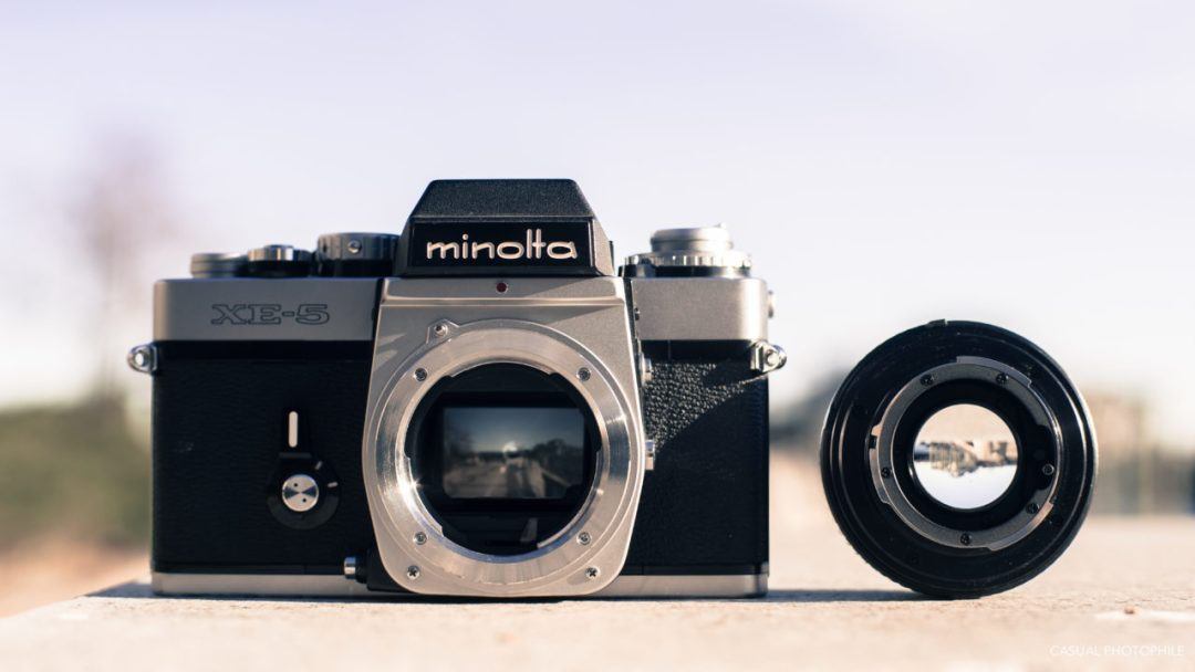 Minolta XE-5 Camera Review (6 of 16)