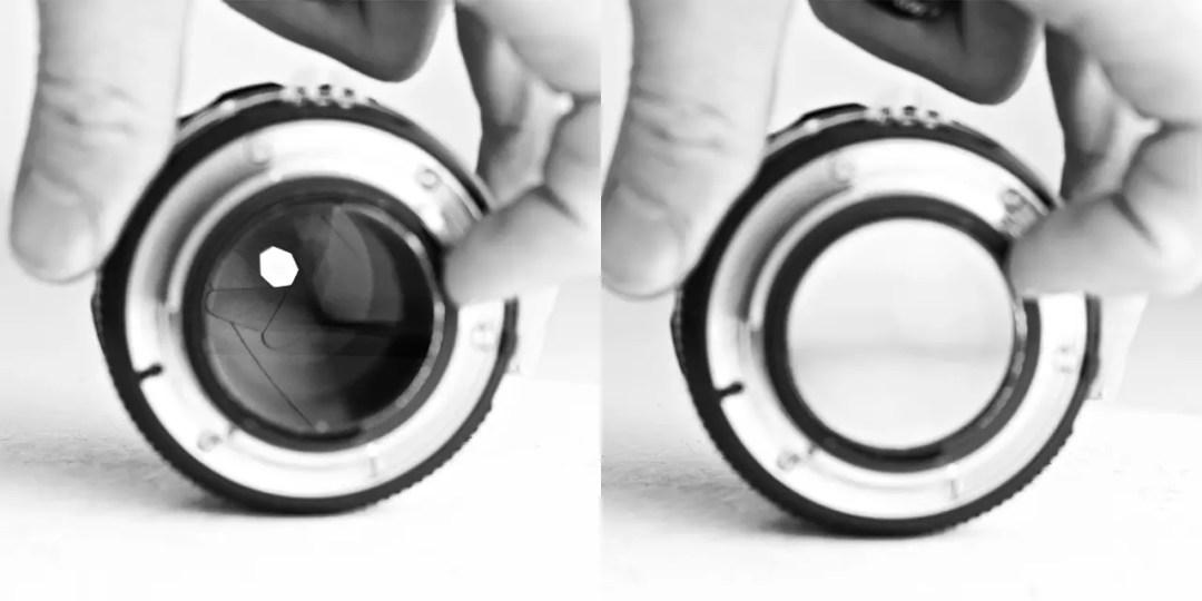 aperture-adjustment-used-lens