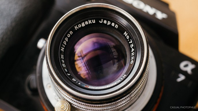 Nikkor 50mm f-2 LTM product photos-1