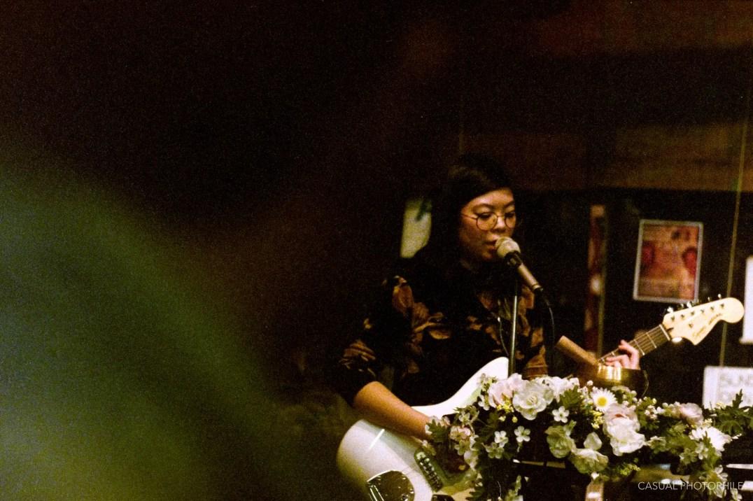 Sonoda at Tribal Cafe, Topcon RE Super, RE Topcor 50mm f/1.8, Fuji Natura 1600