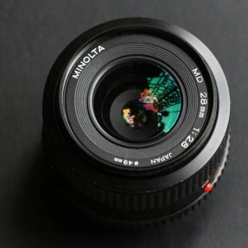 Minolta MD 28mm lens review-28