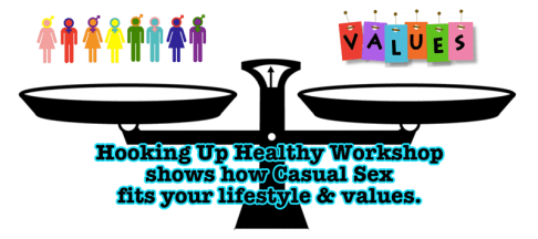 Scale showing lifestyle and values balanced