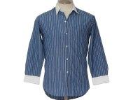 Blue Men's Dress Shirt