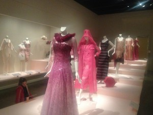 """Think Pink"" exhibit we saw in April 2014"
