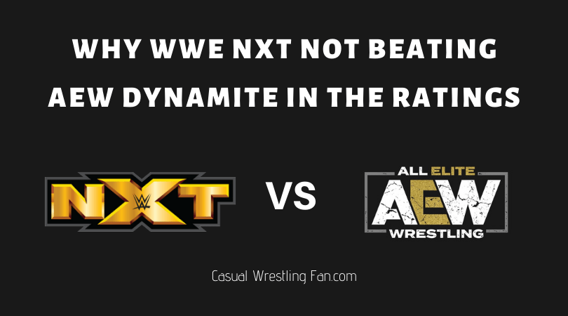 Why WWE NXT not beating AEW Dynamite in the Ratings