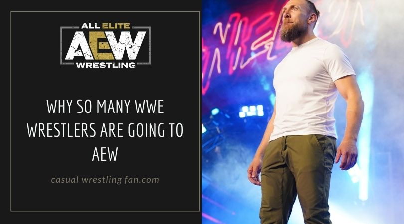 Why so many WWE wrestlers are going to AEW