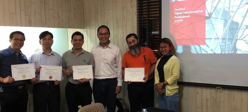 Congratulations to all participants of Certified Digital Transformation Professional (CDTP) in Bangkok, Thailand