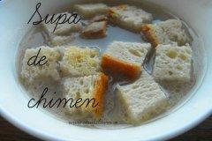 supa de chimen cu crutoane facute in casa