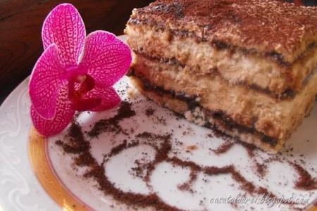 Tort egiptean cu crema de cafea