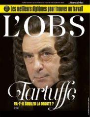 Fillon transformed into Tartuffe