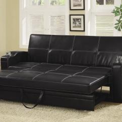 Vegas Futon Sectional Sofa Bed Queen Sleeper With Storage Red Las Cmnc1062 Crown Mark Living Room