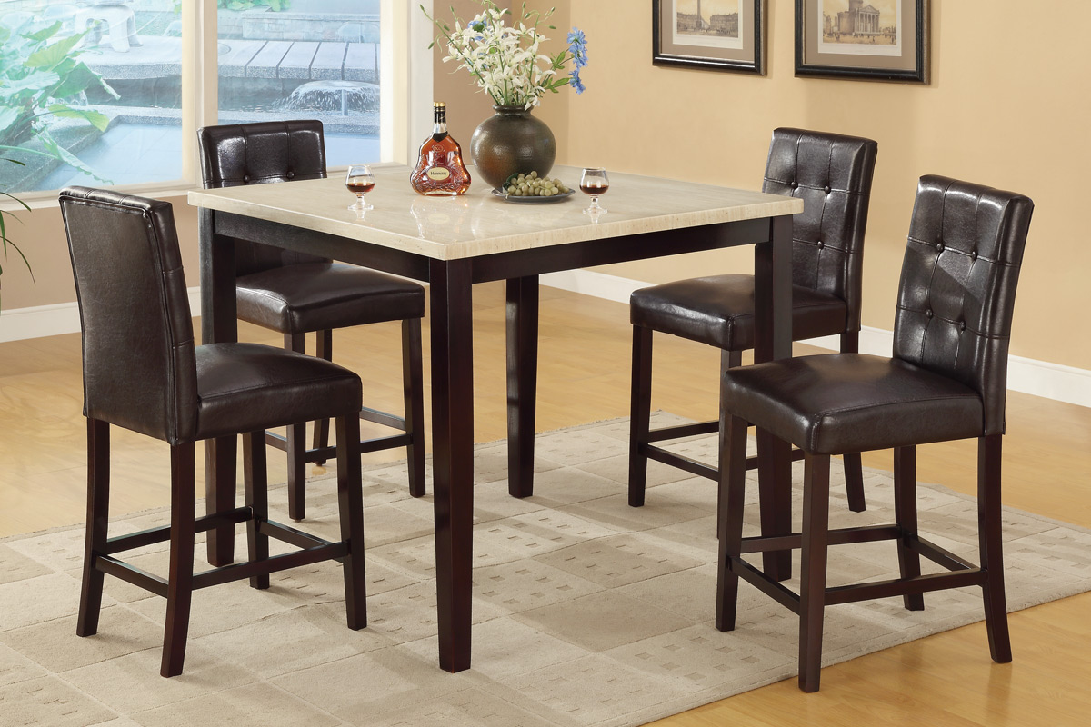5 Pc Counter Height Dining Set 2338px Casye Furniture